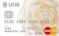 UOB Lady's Solitaire Card