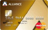 Alliance Bank Gold Card