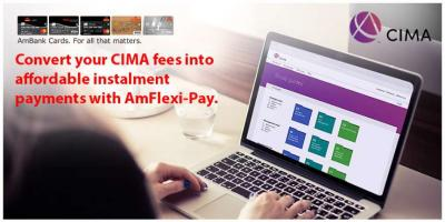 Convert your CIMA fees into affordable instalment payments with AmFlexi-Pay