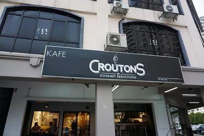 Get a complimentary bar dessert with a minimum spend of RM50 at Croutons by Gourmet Seductions Café