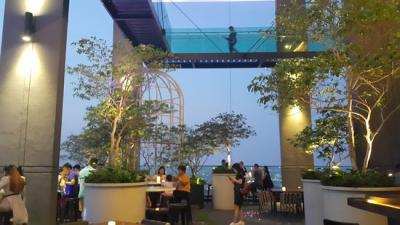 15% OFF total food & beverage bill with a minimum spend of RM­100 at Pampas Sky Dining